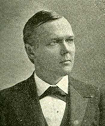 Photographic portrait of Frederick Augustus Woodard, circa 1896.  From the Biographical Directory of the U.S. Congress, Congress.gov.