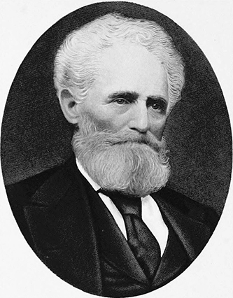 A 1905 engraving of Nicholas Washington Woodfin. Image from Archive.org.