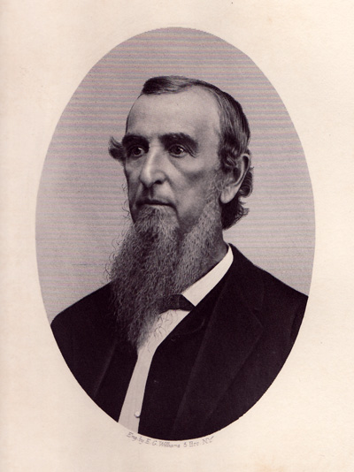 Portrait of John Milton Worth, from Samuel Ashe's <i>Biographical History of North Carolina</i>, Vol. 3, published 1905.  From the collections of the Government & Heritage Library, State Library of North Carolina.