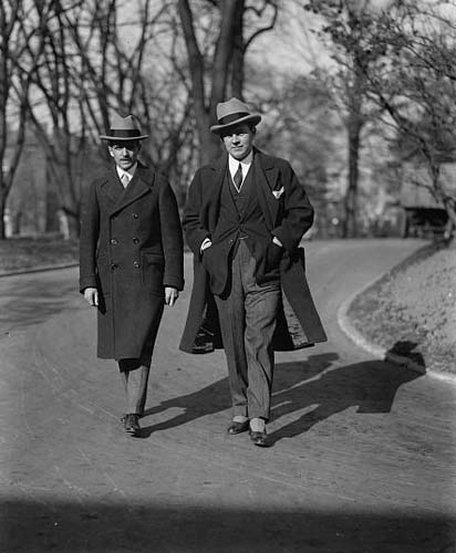 """Dr. Joel Boone and Sidney Blackmer at W.H., 11/20/24."" Image courtesy of Library of Congress."