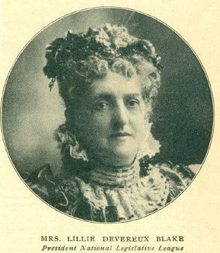 Lillie Devereux Blake. Courtesy of Lincoln Memorial University.