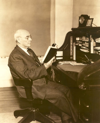 Charles Brewer, Meredith's 3rd president, 1915. Image courtesy of Meredith College.