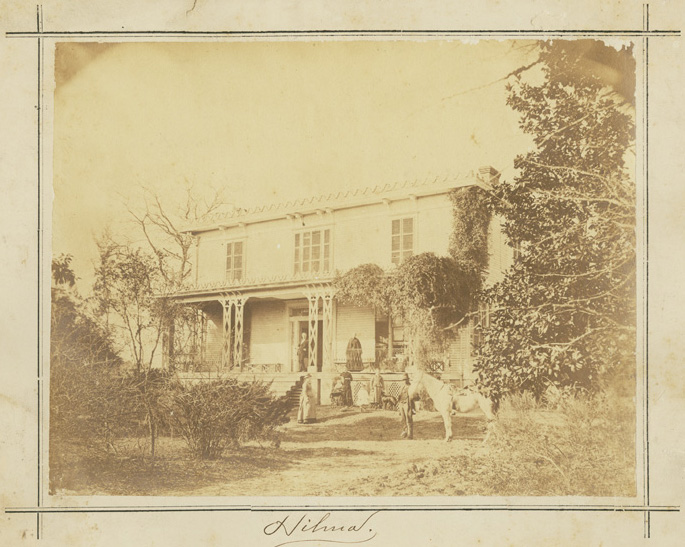 """Hilma,"" the home of John L. Bridgers, Jr., Tarboro, N.C. Courtesy of ECU Special Collections."