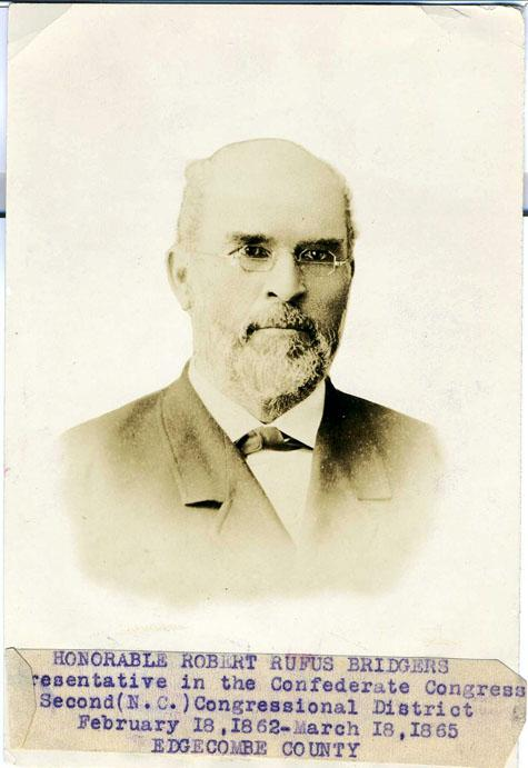 R.R. Bridgers. Courtesy of the North Carolina Museum of History.