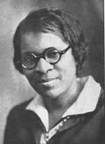 """Charlotte Hawkins Brown. Miss Hawkins brought a little bit of New England to North Carolina."" From NC Hiistoric Sites."