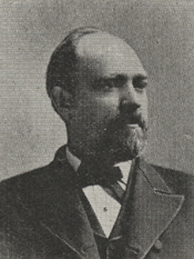 Benjamin Hickman Bunn. Image available from The Graphic Chicago, 1893, Collection of U.S. House of Representatives courtesy of the Biographical Directory of the United States Congress.