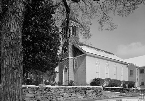 Hillsborough Presbyterian Church. Courtesy of Library of Congress.