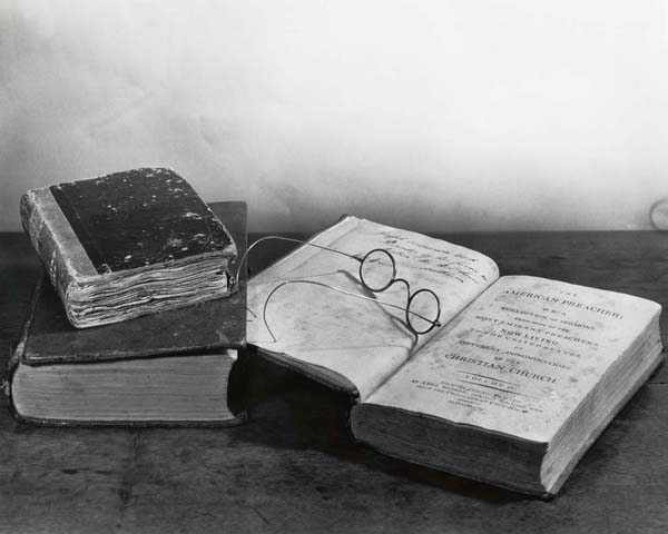 Joseph Caldwell's Books and Spectacles. From UNC Libraries.