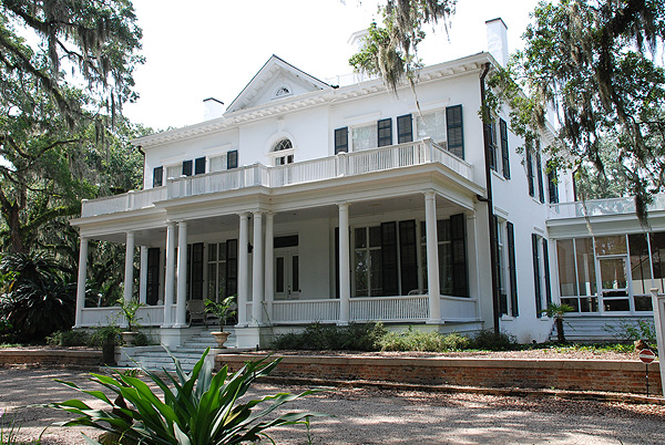 Greenwood Estate, Tallahasse, Fl. was built by Croom in the 1830s. Courtesy of the Goodwood Museum.