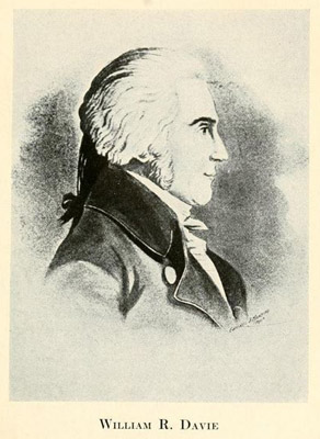 "William R. Davie. Image courtesy of ""History of Halifax County""."