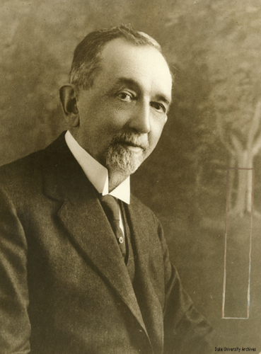 Benjamin Newton Duke. Image courtesy of Duke University.