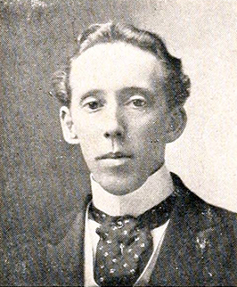 Photograph of Archibald Henderson, circa 1912. Image from Archive.org/University of North Carolina at Chapel Hill.