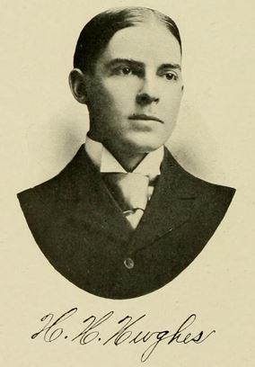 Harvey Hatcher Hughes. Image courtesy of the Yackety yack, 1907.