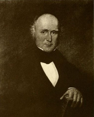 """Reverend and Honorable John Kerr (1782-1842). Portait by G.C. 1883."" Courtesy of ""The Morehead family of North Carolina and Virginia."""