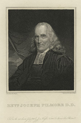 Revd. Joseph Pilmore D.D. / C. Goodman & R. Piggot (1801-ca. 1886). Courtesy of the New York Public Library.