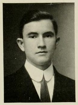 Douglas L. Rights picture from the 1913 issue of Yackety Yack, the UNC Chapel Hill yearbook.