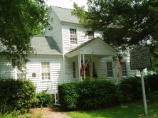 John F. Thompkins house in Bath. Image courtesy of NC Office of Archives & History.