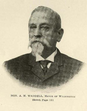 "Alfred Moore Waddell. Image courtesy of ""Prominent people of North Carolina: brief biographies of leading people for ready reference purposes""."