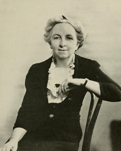 Lillian Wallace. Image from Oak leaves, Meredith College yearbook.