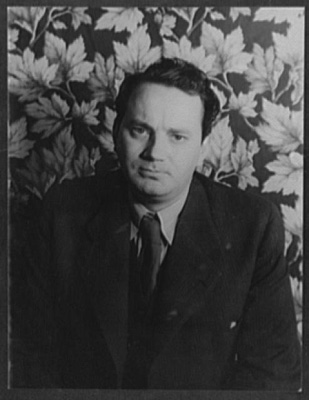 "Van Vechten, Carl. 1933. ""Portrait of Thomas Wolfe."" Library of Congress, Prints & Photographs Division, Carl Van Vechten Collection, [reproduction number, e.g., LC-USZ62-54231]."
