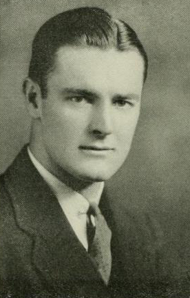 Image of James Moore Tatum, from University of North Carolina at Chapel hill's yearbook Yackety Yack, [p. 106], published 1934 by the University of North Carolina at Chapel Hill. Presented on digital nc.