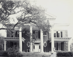 Above, Kenan House circa 1968. Courtesy of UNCW Archives.