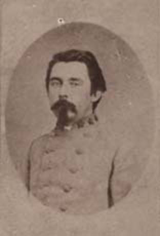 Colonel Thomas Stephen Kenan, 43rd North Carolina Infantry, C.S.A. From the  Alabama Dept. of Archives and History.