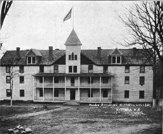 Kittrell College: An Era of Progress and Promise, 1908-1912. Image courtesy of State Library of North Carolina.
