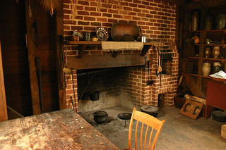 Kitchen Shack Interior Historic Latta Plantation Image Uploaded From