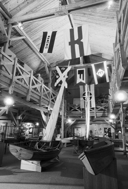 Exhibits at the North Carolina Maritime Museum in Beaufort. Photograph courtesy of North Carolina Division of Tourism, Film, and Sports Development.