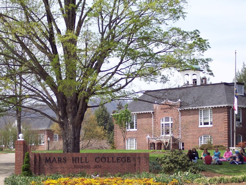 Mars Hill College in Mars Hill, North Carolina