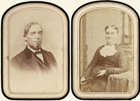William Wallis McDowell and wife Sarah Lucinda Smith. Courtesy of the Western NC Historical Association.