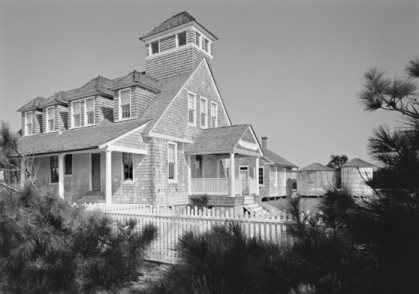 Chicamacomico Lifesaving Station, late 1980s. Photograph by Tim Buchman. Courtesy of Preservation North Carolina.