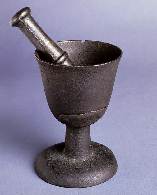 Mortar and pestal from 1775