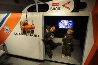 Coast Guard exhibit at Museum of the Albemarle. Image courtesy of the U.S. Coast Guard.