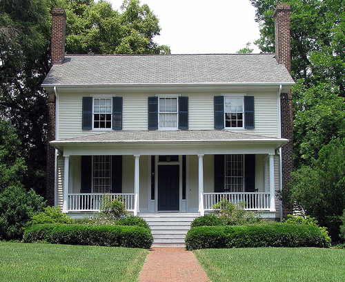Nash-Hooper House. Image courtesy of Visit Hillsborough.