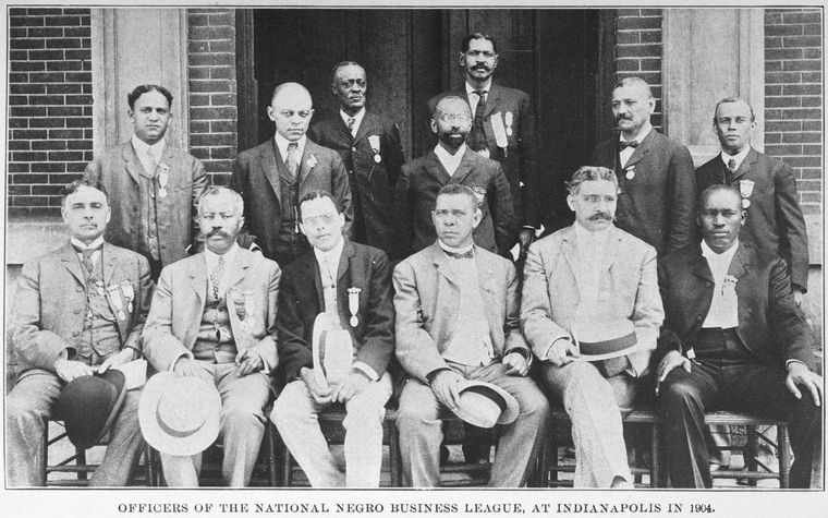 Officers of the National Negro Business League, 1904