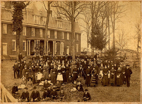 New Garden Boarding School, 1886.