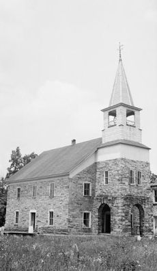 Organ Evangelical Lutheran Church, State Route 1006, Rockwell, Rowan County, NC. Image courtesy of Library of Congress.
