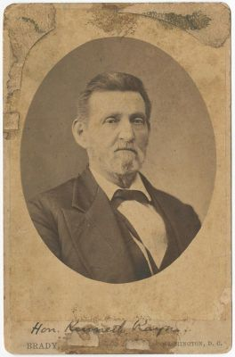 Portrait of Kenneth Rayner taken by Matthew Brady, between 1864-1884. Image courtesy of East Carolina University Digital Collections.