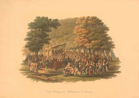 Revival- Methodist camp meeting, March 1, 1819.