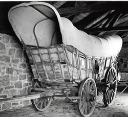 The Conestoga Wagon. Image courtesy of the Pennsylvania and Historical & Museum Commision.