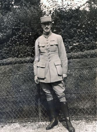 Rockwell in Paris, 1916