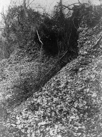 Shell mound. Image courtesy of Library of Congress.