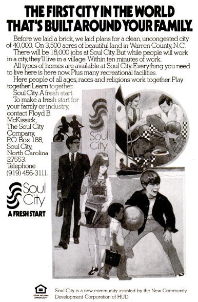 Soul City advertisement