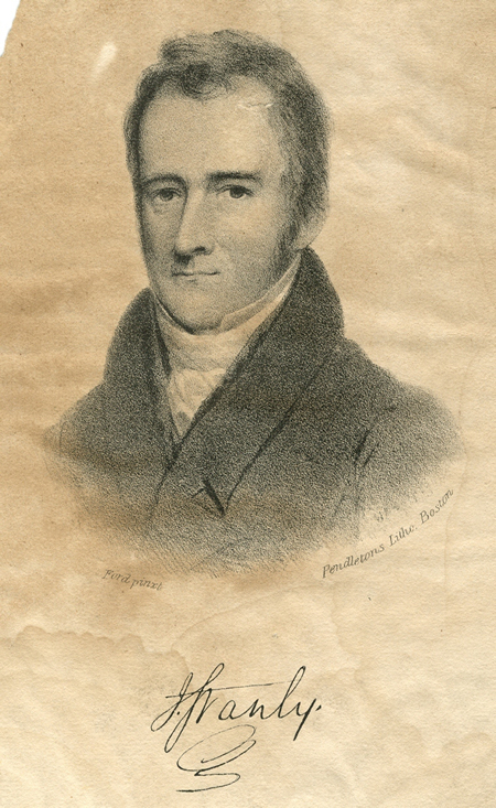 """John Stanly (1774-1834)."" Lithograph by Pendletons, Boston, from a painting by Ford, n.d. Series P2, North Carolina Collection Photographic Archives, Wilson Library, University of North Carolina at Chapel Hill."