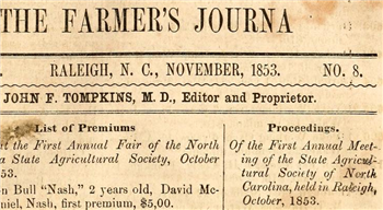 Farmer's Journal 1853