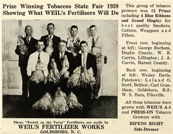 Fertilizer advertisement