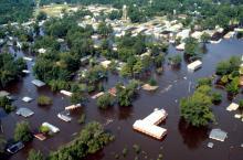 Flooding after Hurricane Floyd