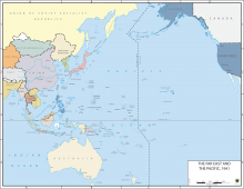 The Far East and the Pacific, 1941